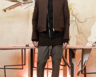 Rick Owens Aerodyne Harrington Jacket