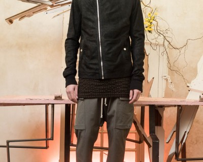 Rick Owens Scuba Leather Jacket
