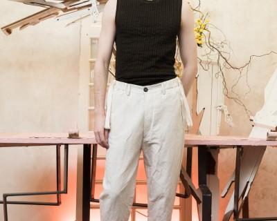 Ziggy Chen Cropped Pants
