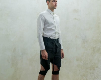 Boris BIdjan Saberi Short Sailor Suit Pants