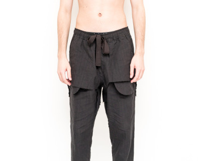 ZIGGY CHEN – DOUBLE LAYERS PANTS