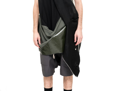RICK OWENS – BOMBER JACKET TRANSPARENT