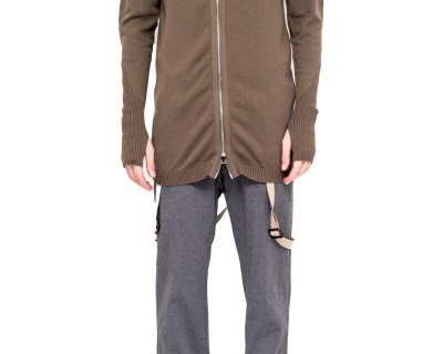 BORIS BIDJAN SABERI – KN3 zipped hoodie