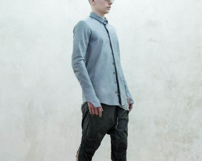 Boris Bidjan Saberi Leather Overshirt