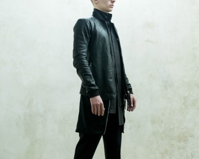 Boris Bidjan Saberi Leather Bomber Jacket
