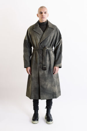 Ziggy Chen Trench Coat 0M1931111 oversized