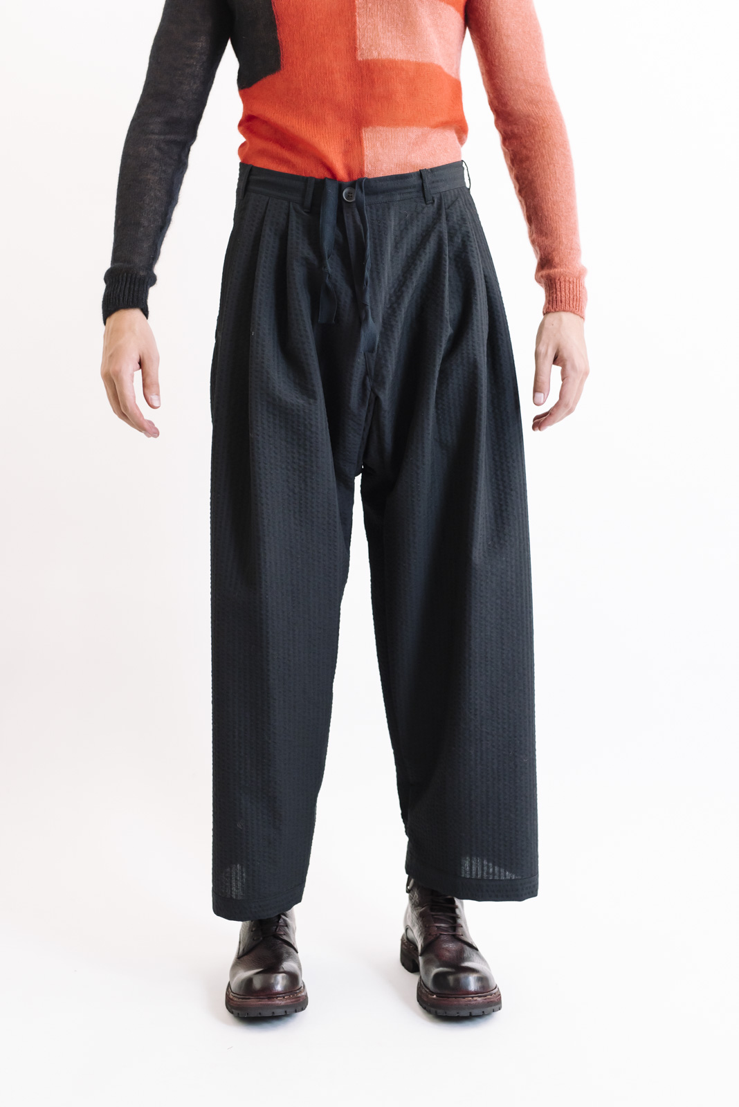 janjanvanessche trousers#54 black wool aw19