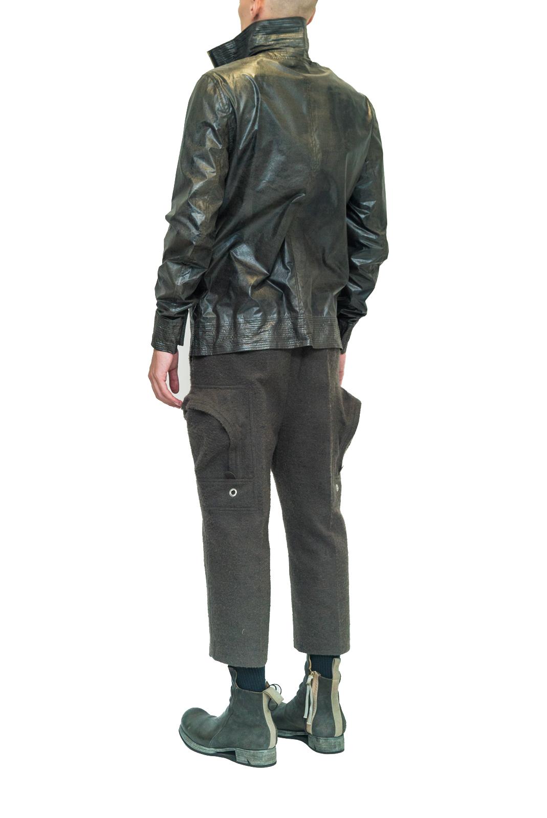 Deepti metal jacket airlock zip