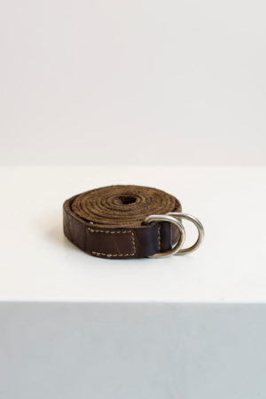 Guidi belt brown bison full grain