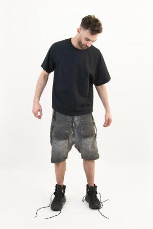 Ziggy Chen bimaterial tshirt