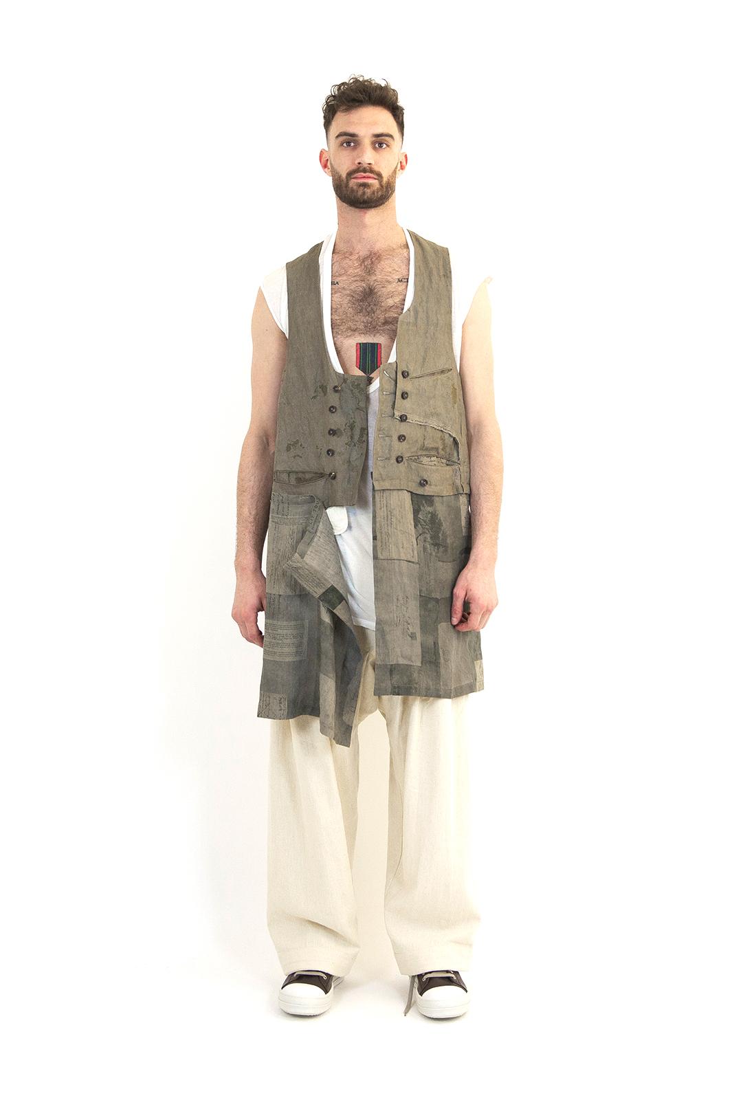 Ziggy Chen Long Vest