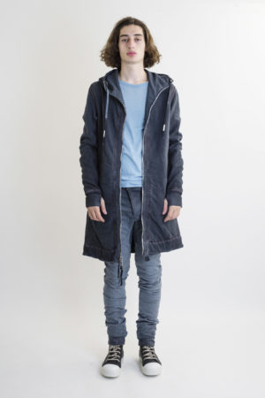 BORIS BIDJAN SABERI ZIPPER3 SEAM TAPED