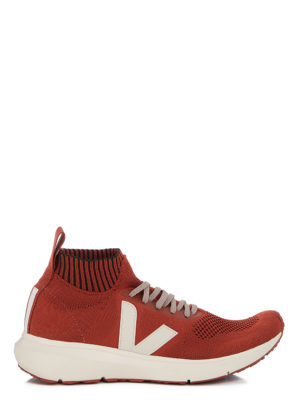 VEJA X RICK OWENS-RUNNER STYLE MID RUST
